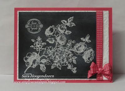 images about Stampin Up Chalk Tecnique Cards