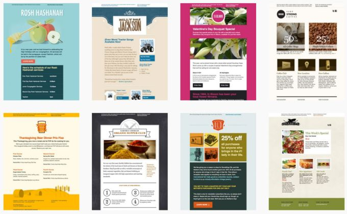 11 best 10 Awesome Email Marketing Newsletters - that look great on