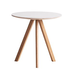 CASANOVA Møbler — Hay - Copenhague CPH20 bord (Ø50) - lakeret eg