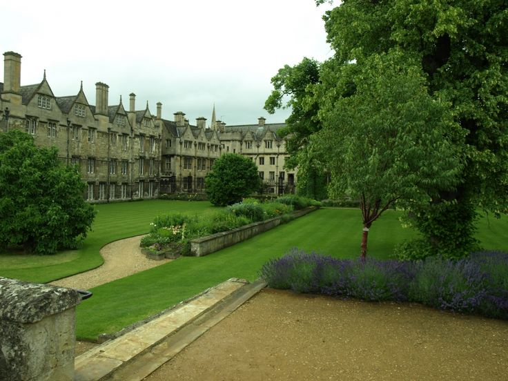 Merton College Oxford garden