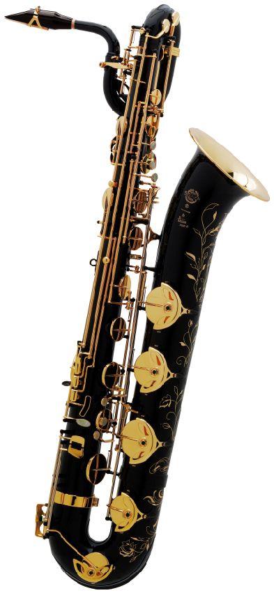 Saxophone baryton Selmer série ii jubilée laque noire gravée www.promusicianslist.com