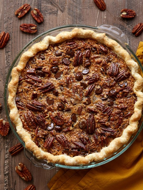1000 images about tarts pies on pinterest lemon tarts for Chocolate coconut pecan pie recipe