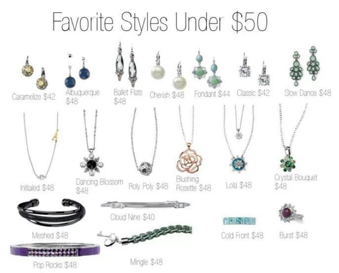 Lia Sophia styles under $50! Lia Sophia Jewelry ~ Janet Wulf, Independent Advisor www.liasophia.com/janetwulf
