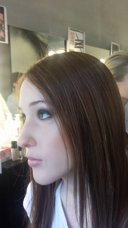 Makijaz smoky/ Smoky make up #makiajzczarny Lubicie makijaż smoky? Ja uwielbiam. Mogłam dziś przećwiczyć technikę makijażu smoky eyes na mokro w Biar Beauty u Agnieszki Brody #makijazsmoky
