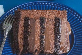 Bolo 5 chocolates (Revista Gula)