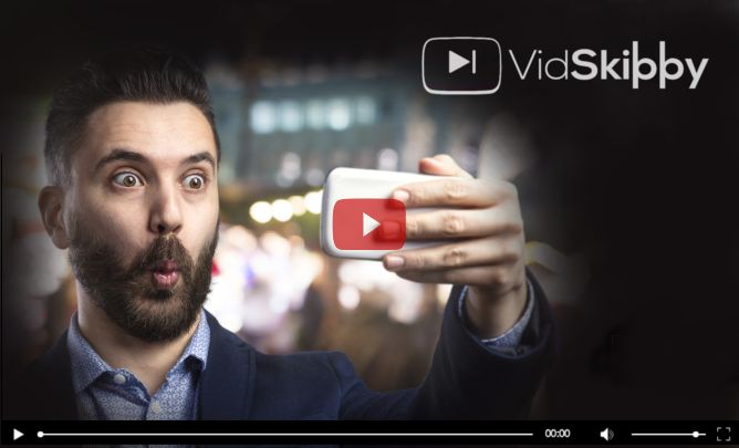 Testing V I D S K I P P Y... Click the link if you have time.  Unique SaaS Product | Mimics YouTube In-Stream Ads | Suitable For All | In Video Clickable CTAs