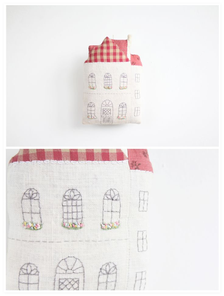 Love this idea.  Could get the grand-kids to draw on some material and then make into the house cushion.  :o)