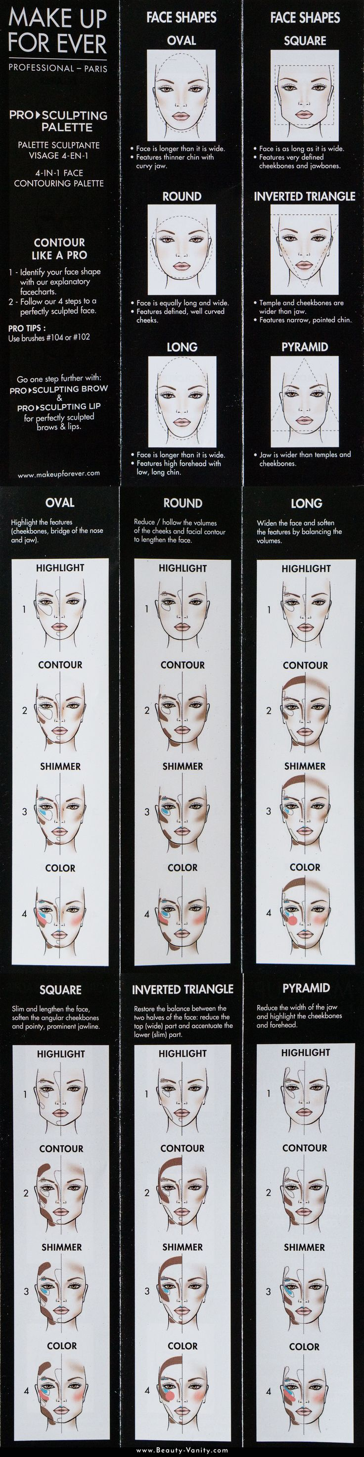 The Beauty Vanity | How To Contour Face Shape