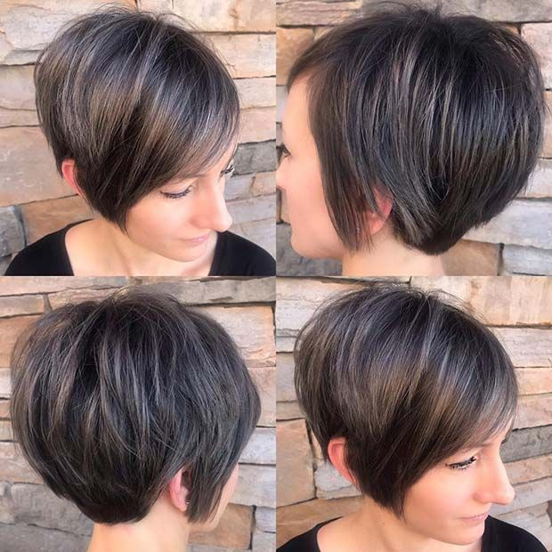 43 Stacked Bob Haircuts That Will Never Go Out Of Style Page 2 Of 4 Stayglam Stacked Bob Haircut Bobs Haircuts Haircuts For Fine Hair
