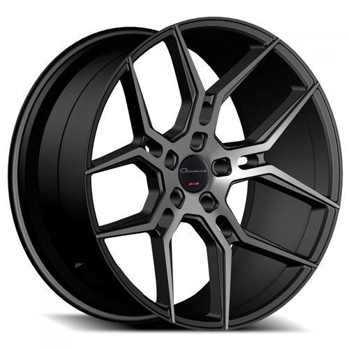 "20 22"" Giovanna Wheels Haleb Black Smoked 2016 New Design Rims Free Shipping #AudioCity"
