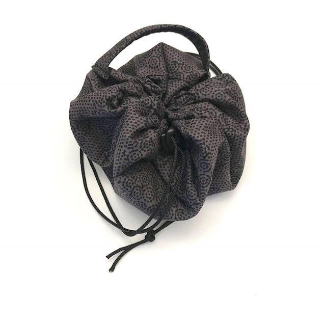A personal favorite from my Etsy shop https://www.etsy.com/listing/583865288/cinch-makeup-bag-makeup-bag-cinch-bag