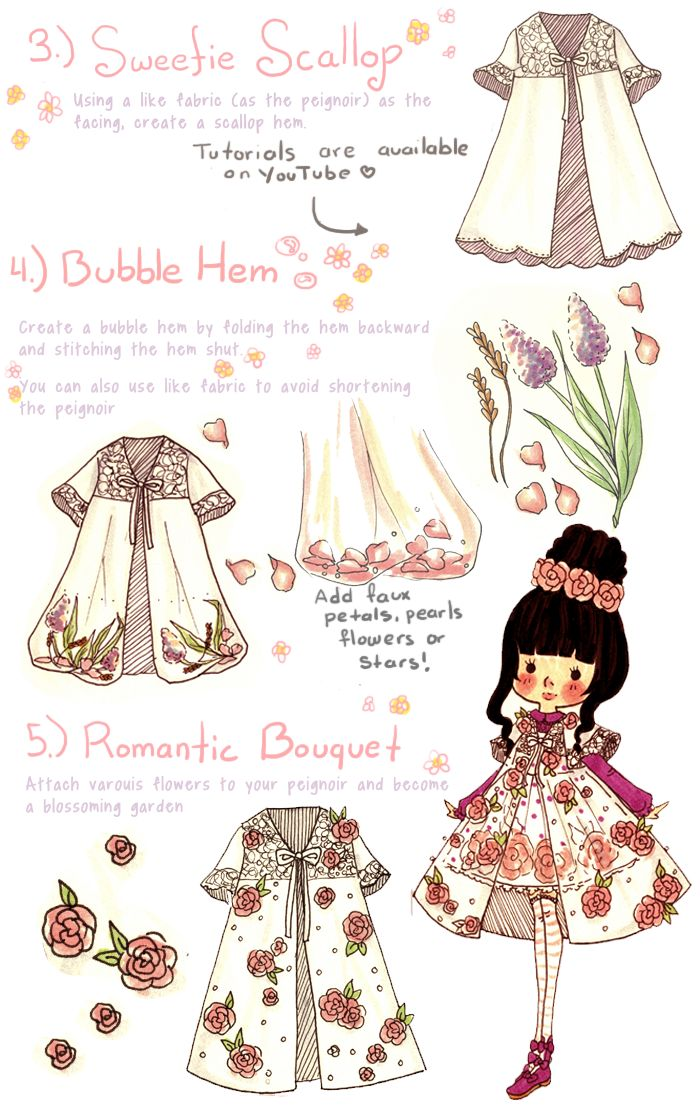 "strawberryskies: ""lemontree11: "" The design of these peignoirs were inspired by the ones sold at Fairytale Boutique https://www.fairytale-boutique.com/ Get your peignoir today"