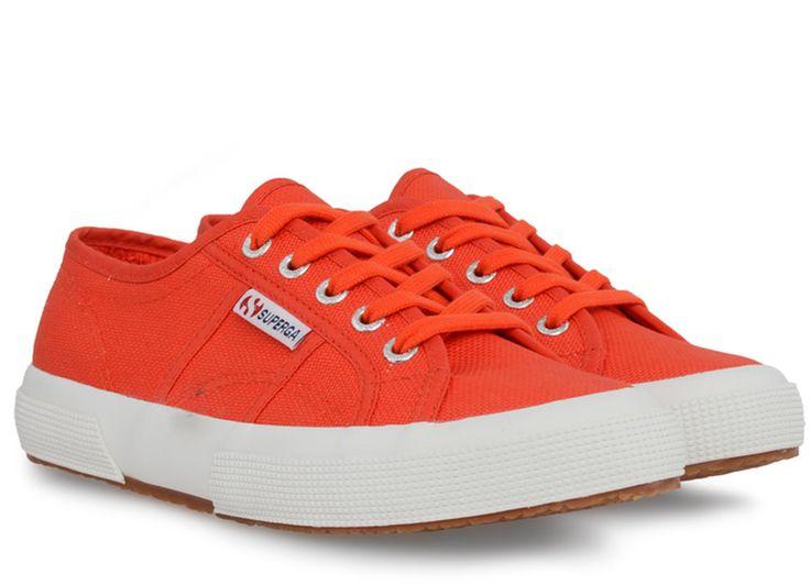 Superga 2750 Cotu Classic Sneaker in Tomato