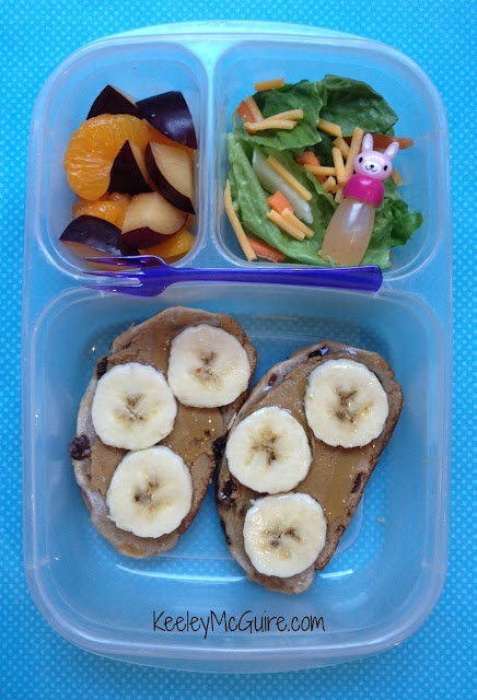 Lunch Made Easy: Silly Monkey Sandwich!   Great School Lunchbox Ideas for Kids