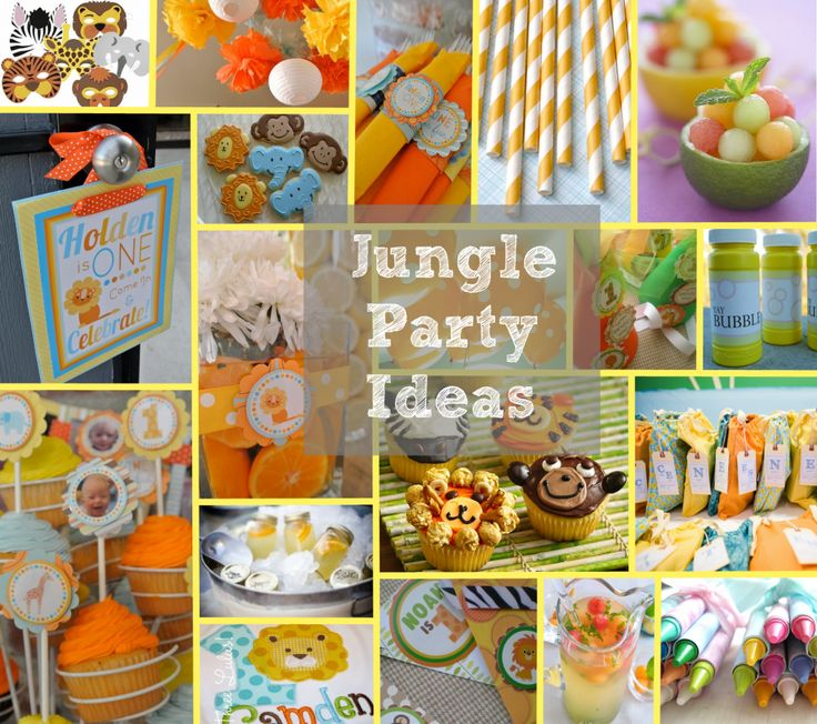 17 Best Images About Jungle Birthday With Free Printables