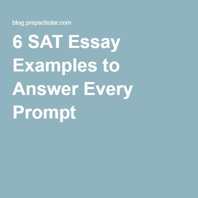 sat scores essay