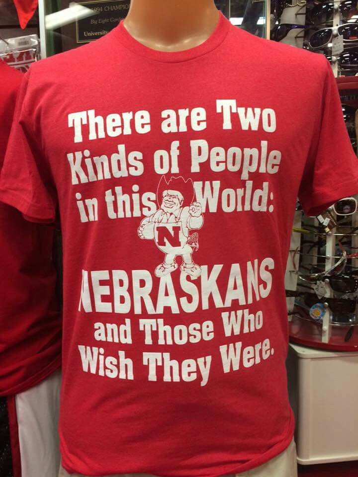 Go Big Red! | Nebraska cornhuskers football, Nebraska ...