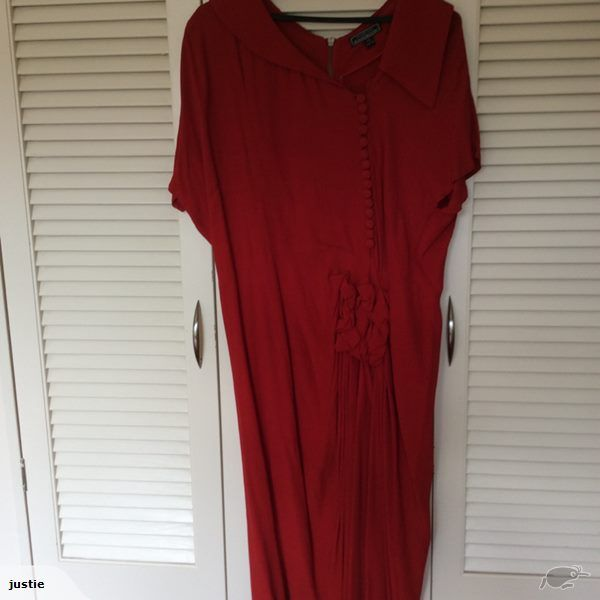 Gorgeous trelise cooper red dress | Trade Me