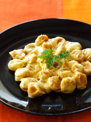 【ELLE a table】かぼちゃのニョッキ チーズクリームソースレシピ エル・オンライン