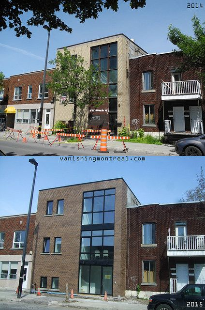 Before / After : Laurendeau street