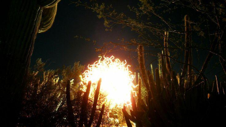 Glass sculpture in the desert  http://earth66.com/exposure/glass-sculpture-desert/