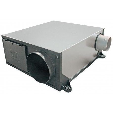 Votre VMC HYGRO PLATT 125 Simple Flux Hygroréglable extra-plate AXELAIR en ligne à prix réduit sur votre site esc-grossiste.fr