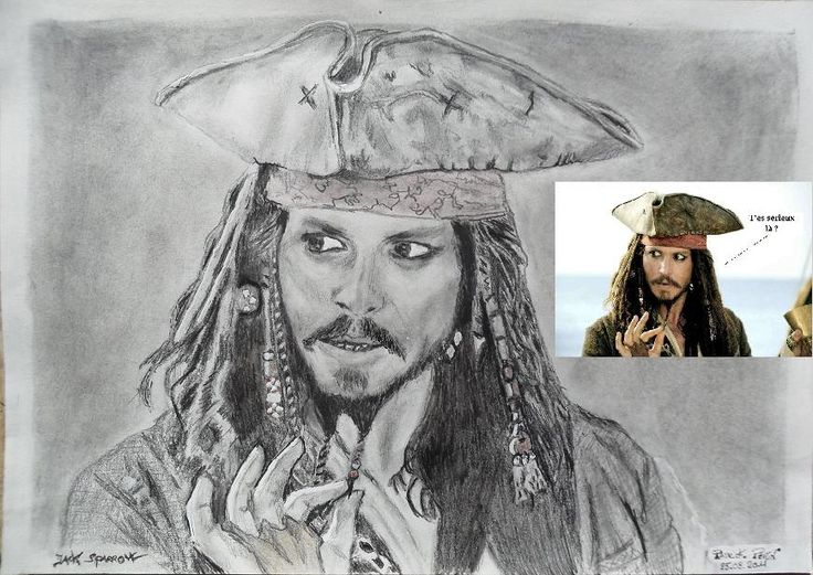JOHNNY DEPP pirates of the caribean !