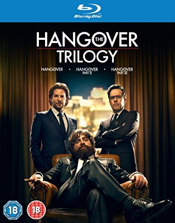 The Hangover Trilogy [Blu-ray] [2009] [Region Free]