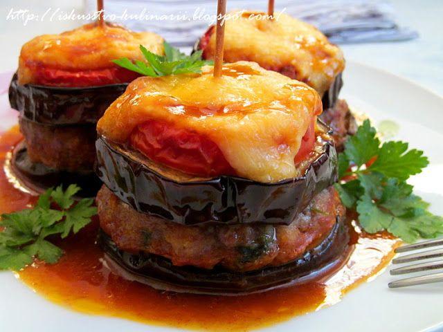 Постигая искусство кулинарии... : Баклажанный бургер-кебаб (Patlican Burger Kebab)