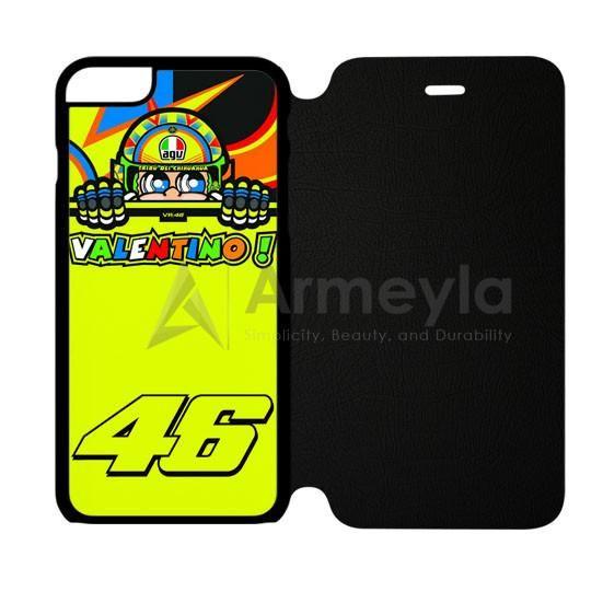 Valentino Rossi Vr46 Forty Six Motogp Team iPhone 6 Plus/6S Plus Flip Case | armeyla.com
