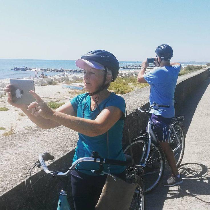 #bike #cycling #lagoon #venice @cyclecities @CyclingVenice #Malamocco.  Cycling Venice Lagoon.  Venice Lido Bike Tour