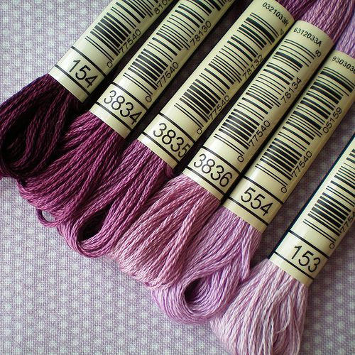 Thread Mini-Sampler - Part Two: Thread Gradient Example | Flickr