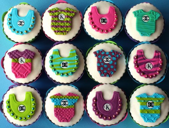 Best 25 baby cupcake toppers ideas on pinterest easy for Baby shower cupcake decoration ideas