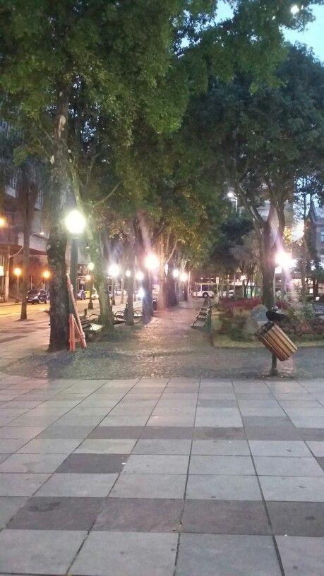 Praça Dante Alighieri em Caxias do Sul