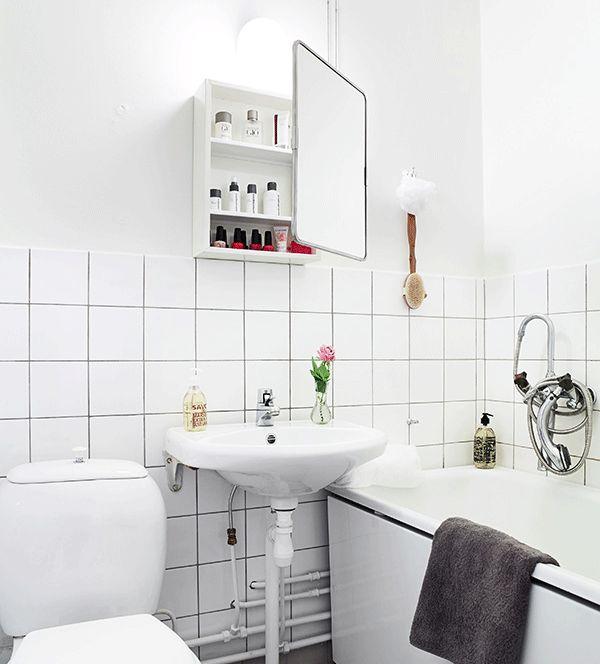 34 Bästa Bilderna Om Badrum På Pinterest