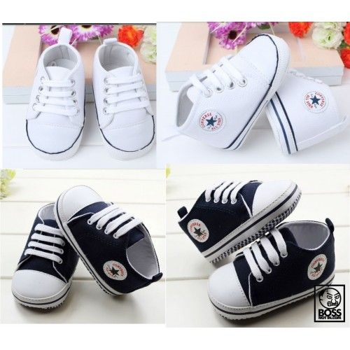 Assorted Color Baby Converse Pre Walker Shoes