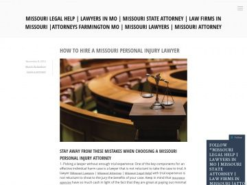 missouri personal injury lawyer