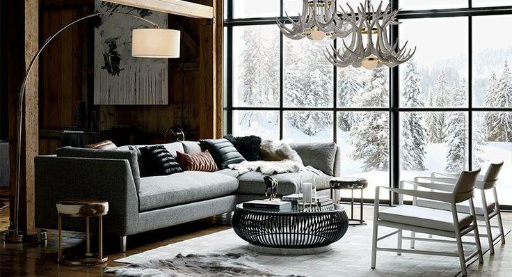 urban living room decker | CB2