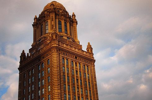 And finally, the Cupola atop the Jewelers Building | 13 Chicago Design Destinations You Won't Find On A Boat Tour