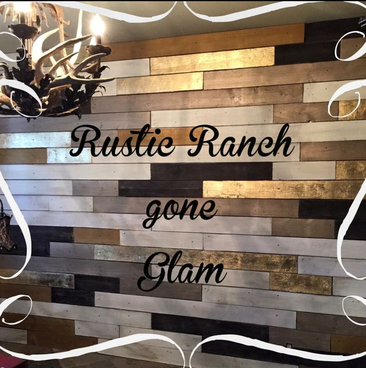Order your own custom metallic wood plank wall by Tracey's Fancy. This can be installed in the San Antonio region or shipped to you!
