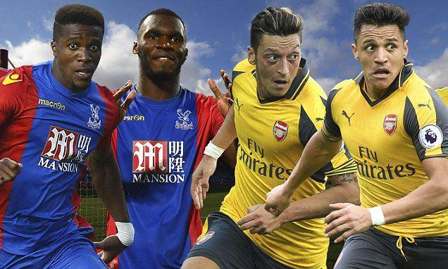 Crystal Palace v Arsenal, EPL LIVE score: Wenger eyes win