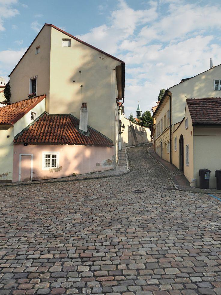 Discover quiet and romantic quarter New World in Prague, Czech RepublicPrague New World
