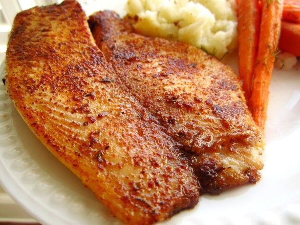 Make and share this Cajun-Spiced Tilapia recipe from Food.com.