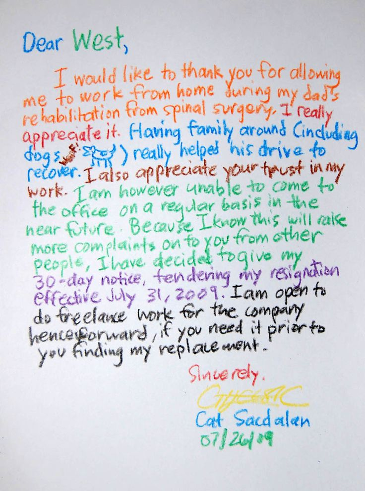 Best Resignation Letter Samples Best Resignation Letter Ever The - retirement resignation letters