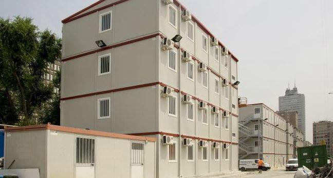 Edificio prefabricado / de modulares / de metal / moderno - CO.PRE.ME