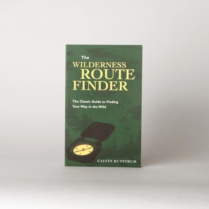 Map And Directions From One Place To Another%0A Calvin Rutstrum u    s Wilderness Route Finder  published in