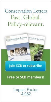 Society for Conservation Biology | Become a Member