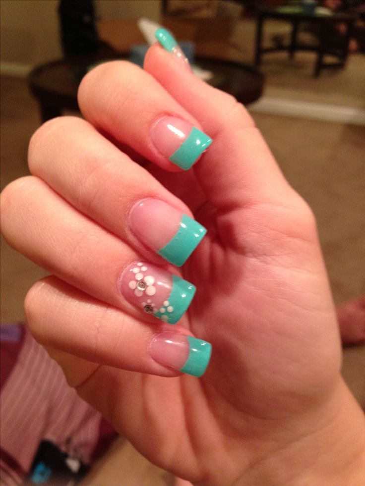 Best 25+ Turquoise Nail Designs Ideas On Pinterest