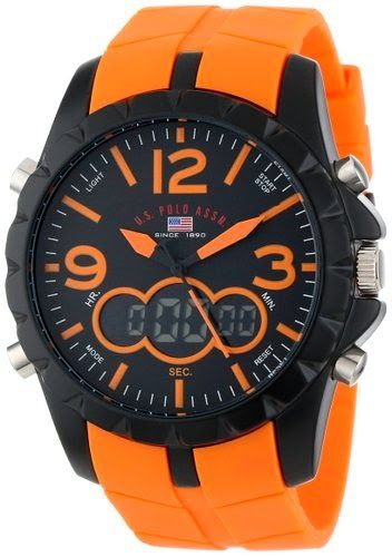 U.S. Polo Assn. Sport Men's US9057 Watch $21.99 http://roksmu.blogspot.com/2014/07/mens-watch.html