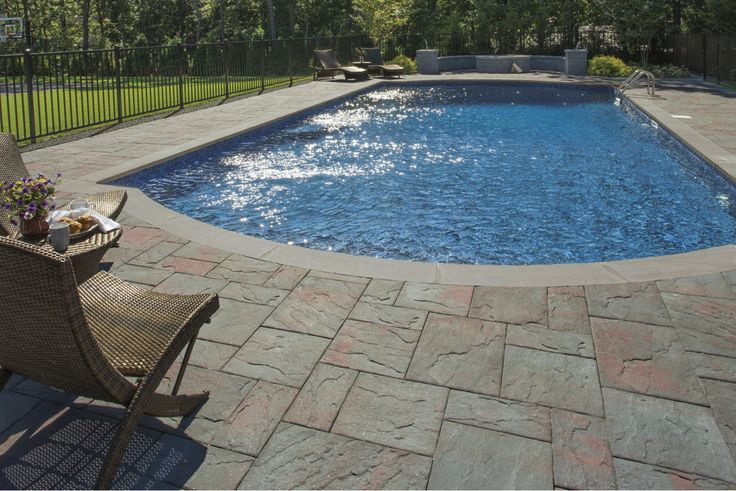 Armortec Pavers Cambridge Pavers For Pool Swimming Pool: Design